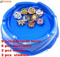 2018 New Beyblade Stadium Burst with Launcher Handle Metal F...