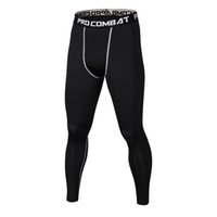 Новые черные брюки мужские компрессионные штанов Камуфляж вскользь колготки леггинсы Бодибилдинг Мужской Брюки