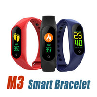 M3 Smart Bracelet Fitness tracker Smart Watch with Heart Rat...