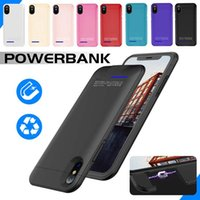 Battery Charger Case For iPhone X 8 Power Bank Charger Case ...