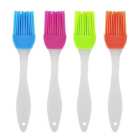 Candy color Silicone Baking Bread Cook tools Pastry Oil Cream BBQ Utensil safety Basting Brush for cooking Pastry Tools