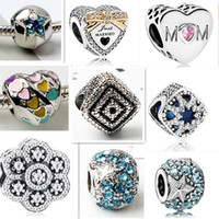 Fashion NEWEST 10 KINDS 60 pcs lot Authentic 925 Sterling Si...