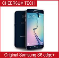 """Оригинальный Samsung Galaxy S6 Edge Plus G928 Octa Core 4 ГБ ОЗУ 32 ГБ 4G LTE разблокирован сотовый телефон 5.7 """"16 MP Android 6.0 отремонтированный телефон"""