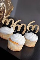 personalize number glitter 30th 40th 50th 60th birthday cupc...