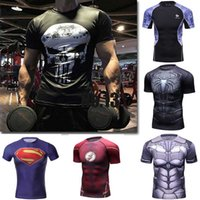 Men sport T shirt Yoga Gym clothes High Quality Fitness Mens...