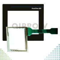 PanelView 600 2711-T6C3L1 2711-T6C5L1 2711-T6C1L1 2711-T6C2L1 Neue HMI-SPS Touchscreen-Panel und Front-Etikett