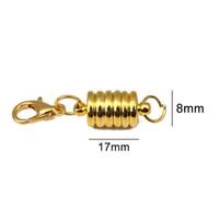 XINYAO 5 sets Metall Starke Magnetische Verschlüsse Karabinerverschlüsse fit Armbänder Halskette 8 * 17mm Ende Anschlüsse Für Diy Schmuck machen