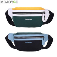 Fashion Waist Bag Unisex Fanny Pack Phone Chest Bag Casual S...