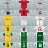 9aab446d9a6 New Arrival. men youth 55 kenny powers boston new york san francisco  seattle charros eastbound and down myrtle beach mermen baseball jersey