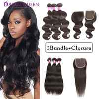 Unprocessed Brazilian Virgin Human Hair Weaves Straight Body...