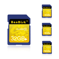 HanDisk 100% Real Capacity SD Card 16GB 32GB SDHC 64GB 128GB...