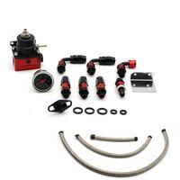 Kits de Regulador De Pressão De Combustível De Alumínio Auto Racing Completa Kit Reguladores De Combustível Com Medidor