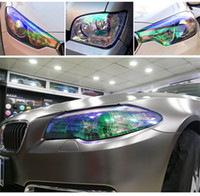 Car Tint Light Film Car Sticker Headlight Decals Transparent...