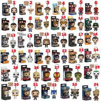 Funko POP Gxhmy Marvel Superheld Harley Quinn Deadpool Harry Potter Goku Spiderman Joker Spiel der Throne Figuren Spielzeug 34 Arten Keychain