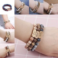 Natural Stone Bracelet Mom Dad Love Best Friend Powerful Fai...