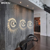 WOXIU 3W LED Wall Light Aluminium ceiling lights Bathroom La...