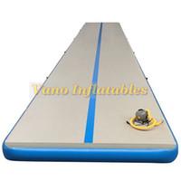 Air Track preços Indoor Playground Gym Equipment Mat para Kit infláveis Ginástica Mats com bomba Entrega grátis