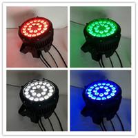 8 أجزاء أضواء عيد الميلاد في العارض الاسمية أدى 24x12 واط iluminacion dj الاسمية 64 led للماء 4in1 rgbw الاسمية