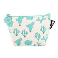 Laamei Cartoon Women Coin Purse Cactus Girls Purse Fashion M...