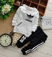 666 baby boys girls track suit kids brand tracksuits kids co...