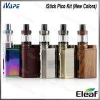 Eleaf iStick Pico Kiti 75 W Yeni Renkler Ile Melo Mini 2 ml Tankı iStick Pico TC Mod Firmware Yükseltilebilir 100% Orijinal