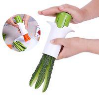 الفاكهة الخضروات الفاصل دليل الربع القاطع الخيار الجزر الفراولة الفجوة القاطع القطاعة المروحية أدوات المطبخ الإبداعية