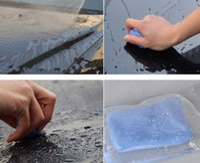 Outil de nettoyage de voiture Décontamination Détaillant Argile Décontamination de véhicule Nettoyage boue volcanique Diables poli Boue Plasticene Clean Tool 40 PCS
