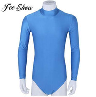 Feeshow Body Shaper Mens de una pieza Stretch Bodysuits masculinos Sexy ropa interior Shapers Hombres Ropa Hombres Leotardo Body Mono