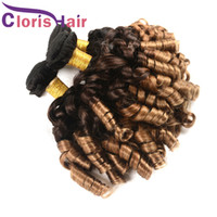 Aunty Funmi Romance Curls Brazilian Virgin Ombre Hair Bundle...