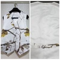 Белый настоящее дерево камуфляж жилет для мальчика формальные свадебная одежда 2019 пользовательские онлайн дети формальные свадьба носить камуфляж жилет + лук