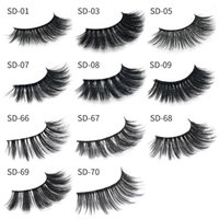 Makeup 3D Mink eyelashes eye lashes Thick real mink HAIR fal...