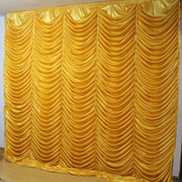 3m*3m water ripple backdrop Party Curtain Celebration weddin...