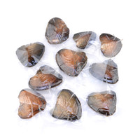 NOUVEAU 2017 Gros ROUND Akoya Pearl Oyster Blanc Rose Pourpre Noir 6-7mm PARTY FAVOR Emballage Sous Vide