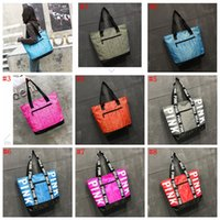 8 Colors Love Pink Handbag Shoulder Bag Classic Portable Sho...