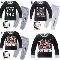 3 Style Children fortnite tracksuit New big boy girl long sl...