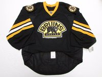 493dd5087 Wholesale customization BOSTON BRUINS THIRD TEAM ISSUED JERSEY GOALIE CUT  Mens Stitched Personalized hockey Jerseys