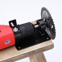 10 mm de diámetro vástago taladro eléctrico cambiador convertidor cortador herramienta base de corte de asiento Variable soporte pulidor de corte