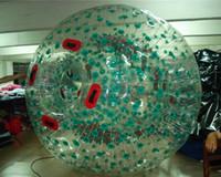 شحن مجاني 2.5 متر نفخ الجسم zorb الكرة الإنسان الهامستر ، موجة العشب و كرة الثلج المتداول الكرة تحرير مضخة