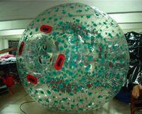 الكرة الشحن 2.5 متر نفخ zorb المياه الحرة مضخة الجسم العشب ضياء البالون الثلج موجة ndokr
