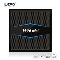 H96 Mini TV Box Amlogic S905W Quad Core Android 7. 1TV BOX 2G...