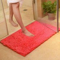50cm * 80cm mode matta Sovrum dekorera mjukt golv matta varma färgglada vardagsrum golv mattor slip resistenta mattor 15st