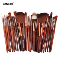 22pcs Makeup Brushes Set Beauty Cosmetic Foundation Powder B...