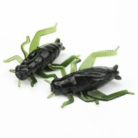 30pcs 2. 5cm 0. 7g Simulation Cricket Silicone Fishing Lure So...