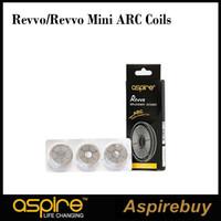 Aspire Revvo ARC Bobine Revvo Mini ARC Bobine Aspire Bobine radiali per Revvo Tank Mini atomizzatore 0.10-0.16ohm 0.23-0.28ohm Nuove bobine 100% Origina