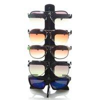 5 Schichten Sonnenbrille Kunststoffrahmen Display Ständer Gläser Brillen Bunte Brillen Zähler Ständer Halter Rack