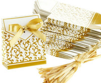 Hot Wedding Favour Favor Bag Sweet Cake Gift Candy Wrap Pape...