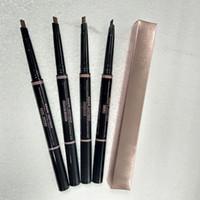 Maquillage chaud Maquillage Enhanceurs Maquillage Maquillage Skinny Suny Pencil Double Terminé avec brosse à sourcils 0.2G 5 Couleur + cadeau DHL Livraison gratuite