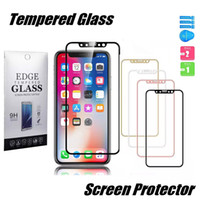 For Iphone X XS Max XR iphone 8 7 6S Plus Tempered Glass Scr...