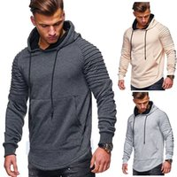 New Mens Designer Sweatshirt Hooded Casual Clothes Long Slee...