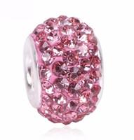 الأزياء سحر الخرز الوردي فضي اللون الخرزة صالح باندورا سوار الأصلي المرأة مجوهرات diy جعل هدية الفاخرة النساء المجوهرات